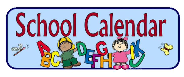 District School Calendar 2020-2021